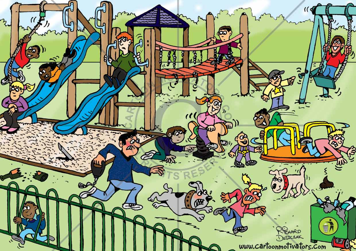 What is dangerous playground