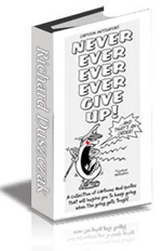 Never Ever Ever Ever Give Up ebook cover